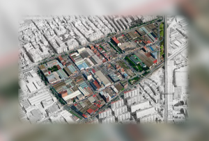 Area del distrito cultural de L'Hospitalet Inmobiliaria Gonsi