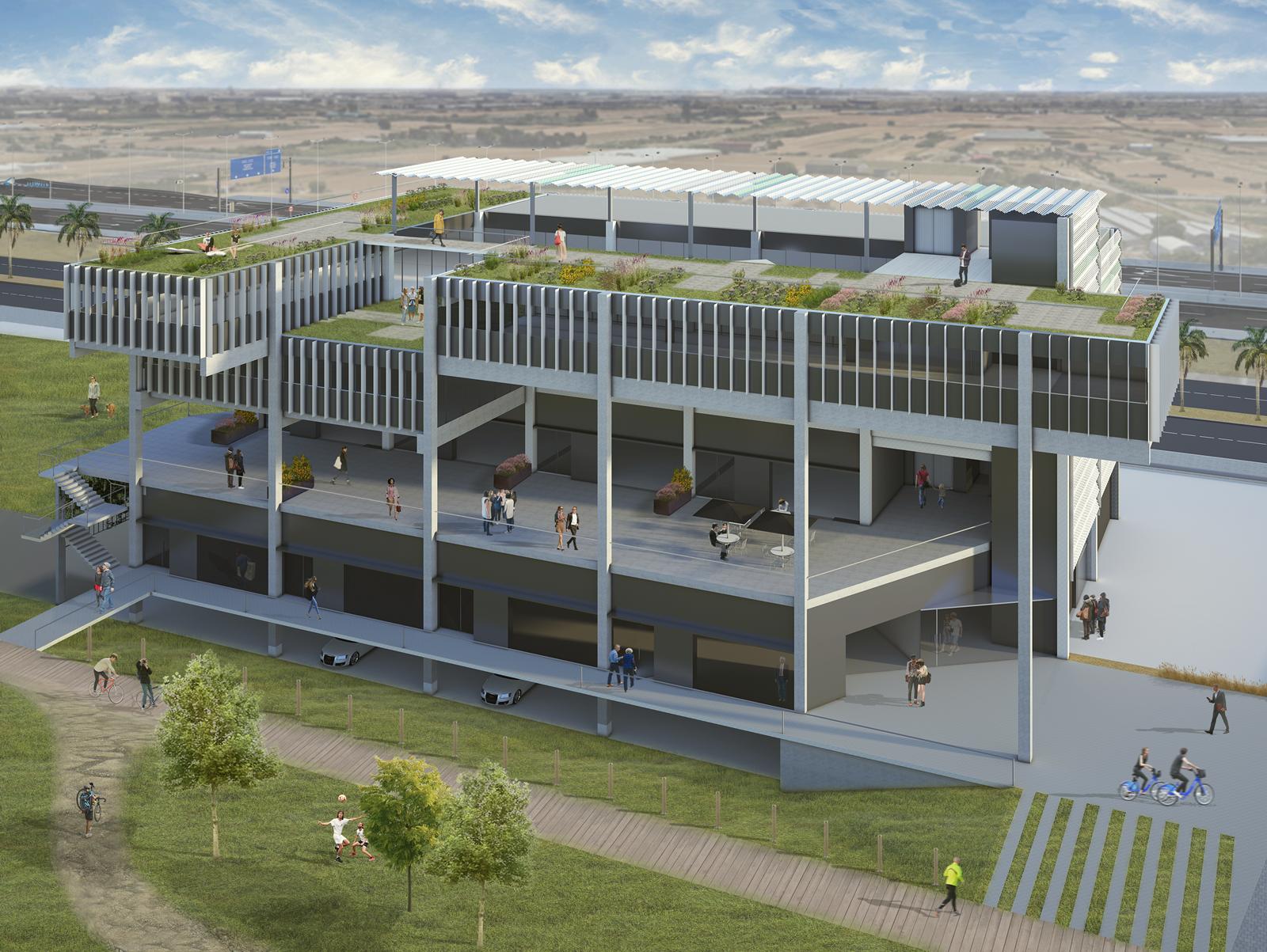Edificio Corporativo nueva construccion 2   GONSI