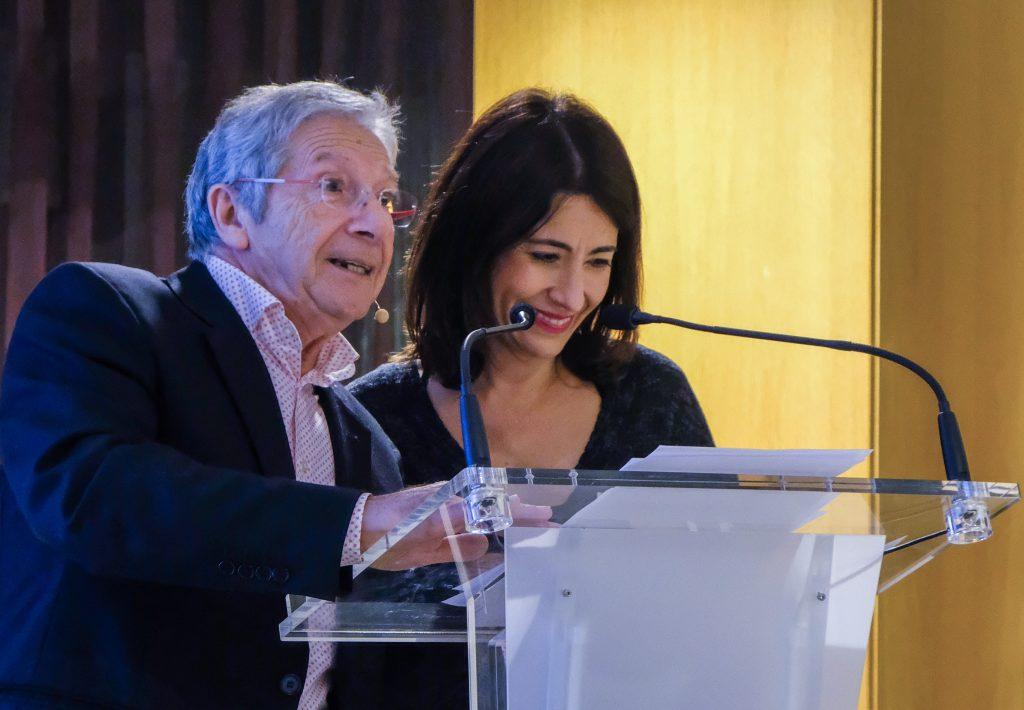 Joan Pera y la Alcaldesa de Gava en Premis Made in Gava GONSI