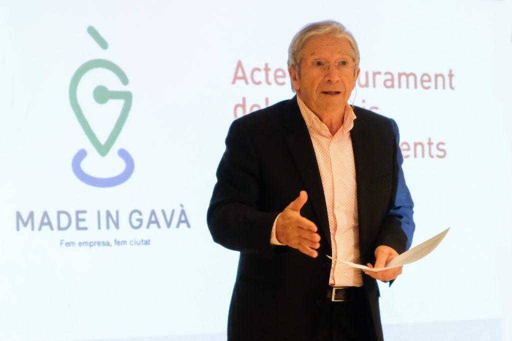 Joan Pera presentador Premis Made in Gavà GONSI